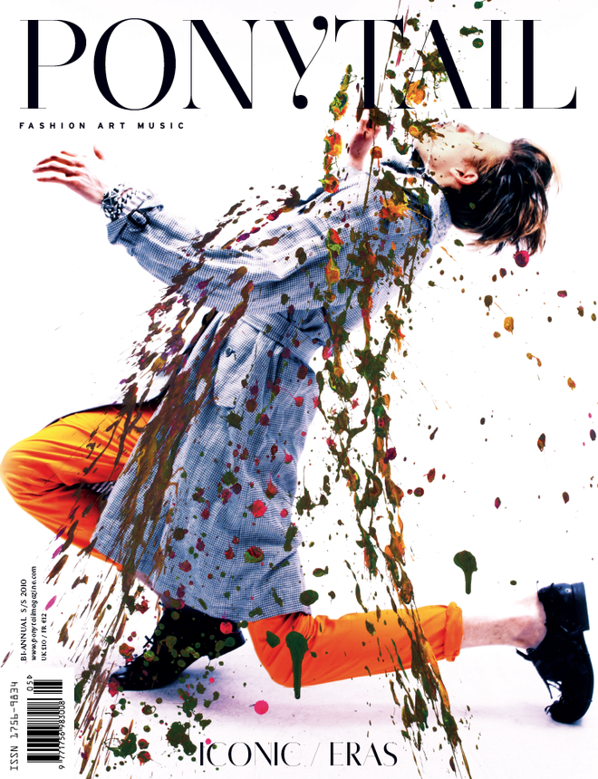 Lazaro Jewelry on the cover of Ponytail Magazine!